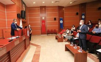 PAÜ'de Koronavirüs Komisyonu toplantısı gerçekleştirildi