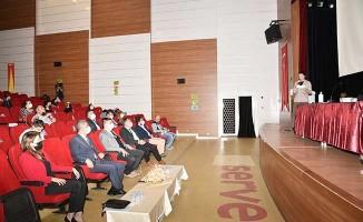 Bağımlılıkla mücadele bilgilendirme toplantısı yapıldı