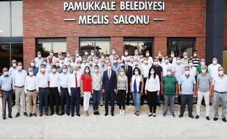 """Başkan Örki, """"Muhtarlar bizim için çok kıymetli"""""""