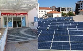 Hastanenin elektrik tüketiminin tamamı güneş enerjisiyle karşılanıyor