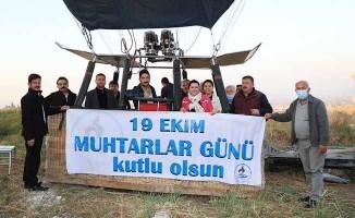 Pamukkale Belediyesinden muhtarlara jest