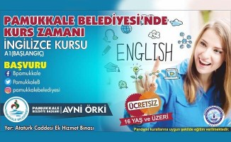 'Pamukkale'de Kurs Zamanı': Son başvuru 10 Ekim