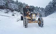 Büyükşehir'den karla mücadelede seferberlik