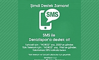 Denizlispor'a SMS'le destek ol