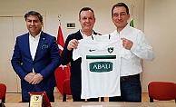 Abalıoğlu, Denizlispor#039;a sponsor oldu