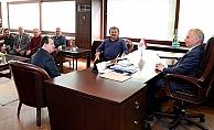 Acıpayam Dernekler Birliği, Başkan Zolan'ı ziyaret etti