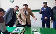 Başkan Çetin doğum günü hediyesi olarak 3 puan istedi