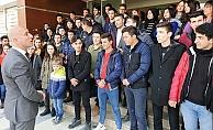 Başkan Özbaş'tan zirveye moral gezisi