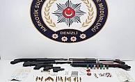 Denizli#039;de zehir tacirlerine şafak operasyonu: 16 tutuklama