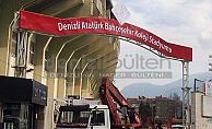 Stadyumun tabelası da değişti