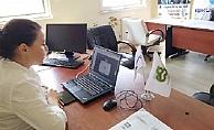 Denizli İŞKUR'da Kadın Konuk Evleri'nde hizmet alan kadınlara online eğitim