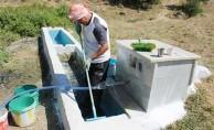Emekli astsubay köy köy dolaşıp eskimiş çeşmeleri yeniliyor