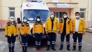 Nikfer'e tam donanımlı ambulans teslim edildi