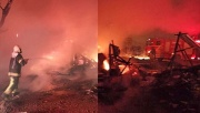 Boş besihanede çıkan yangın korkuttu