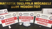 Denizli'de gözaltına alınan 35 uyuşturucu tacirinden 15'i tutuklandı