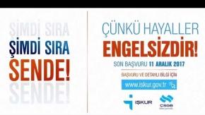 Bakan Sarıeroğlu engelli vatandaşlara kısa film ile seslendi