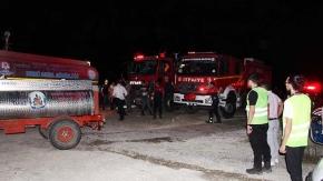 Buldan'da 2 kez söndürülen orman yangını 3. kez kontrol altına alındı