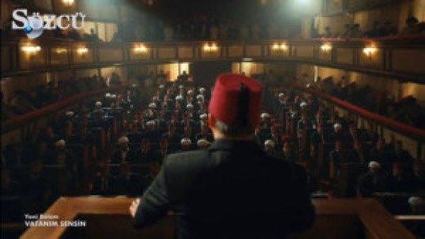 ''Efendiler, ben buraya Mustafa Kemal'in emriyle geldim''