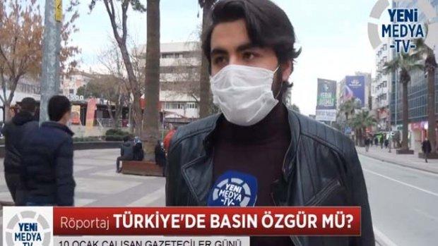 """""""Sizce gazeteciler özgür mü?"""""""