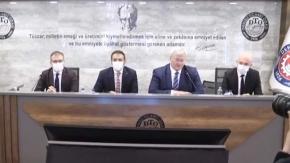DTO Başkanı Erdoğan, Ukrayna Büyükelçisi Sybiha'yı ağırladı