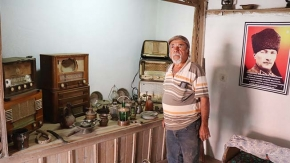Baba ocağına dönen gurbetçi, ata yadigarıyla köyüne müze kurdu