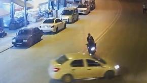 Denizli'de yaşanan trafik kazaları MOBESE'de